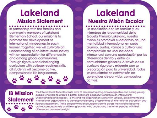 Lakeland Mission Statement