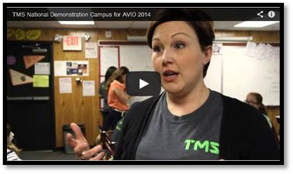 TMS AVID National Demonstration Campus