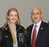 Student Body Presidents welcome School Board & Superintendent