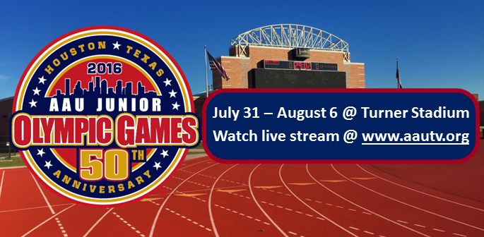 AAU Junior Olympic Games 2016