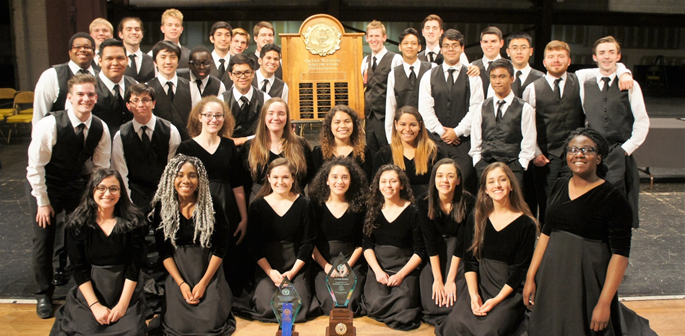 AHS Orchestra Grant National Champions