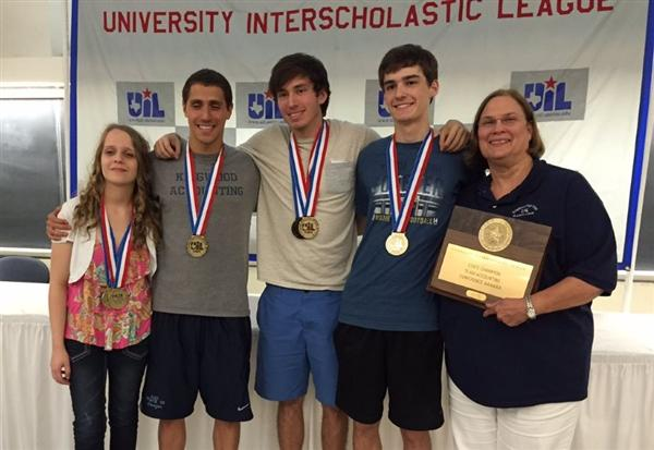 KHS accounting team wins Texas State 6A Championship in Austin