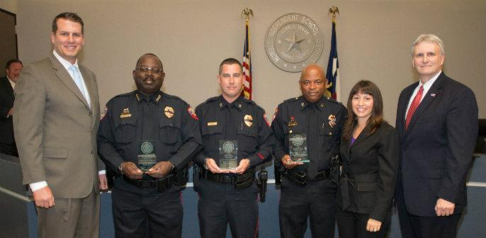 Humble ISD Police Receive Award