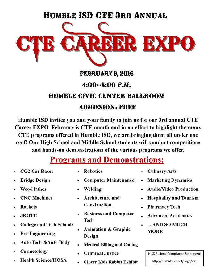CTE Career EXPO