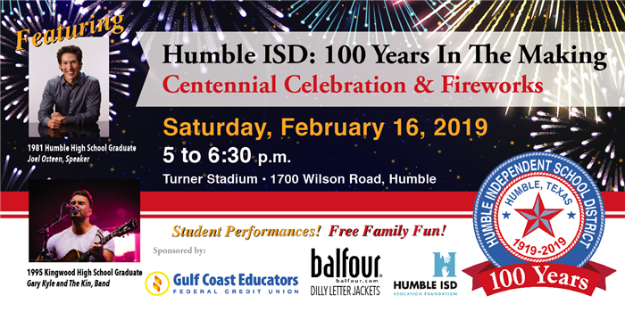 Centennial Celebration Feb 16