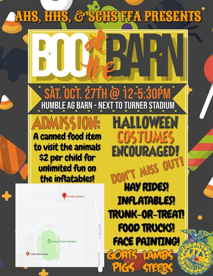 Boo at the Barn Oct. 27