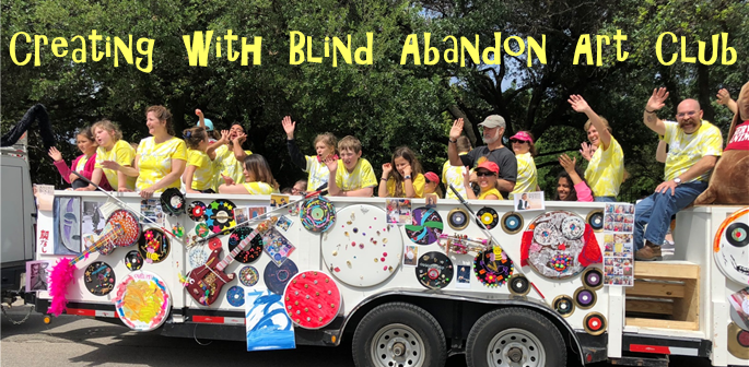 Art club participated in Houston Art Car Parade