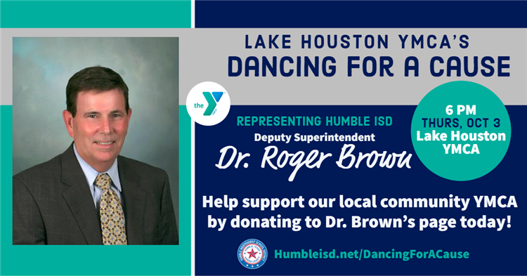 Dancing for a Cause - Dr. Brown