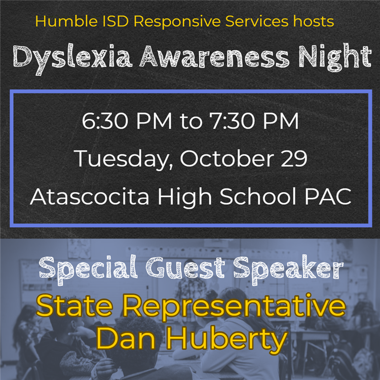 Dyslexia Awareness Night