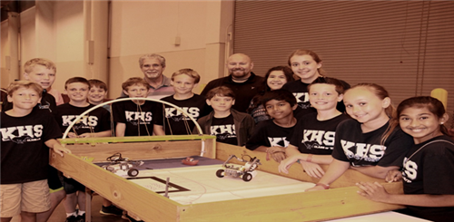 Dr. Sconzo honored during 2015 EcoBot Challenge