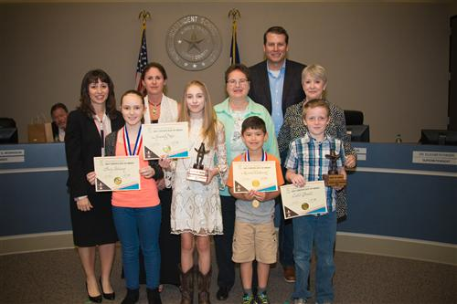 2017 Elementary and Middle Rodeo Art Winners