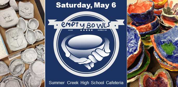 Empty Bowl Saturday, May 6