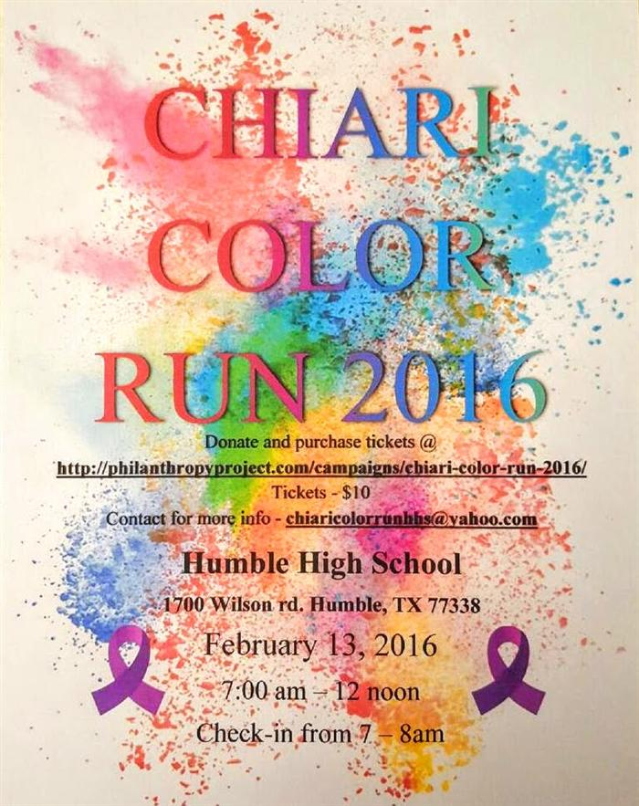 Chiari Color Run