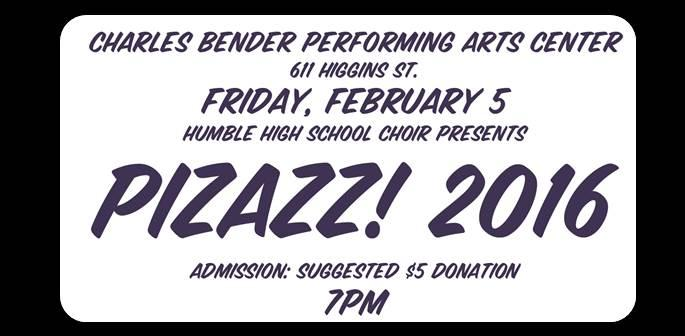 HHS Choir Present Pizazz! 2016