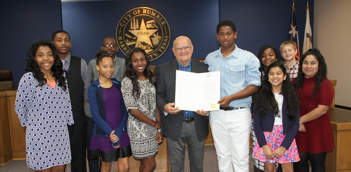 March 7 Humble Middle School Day