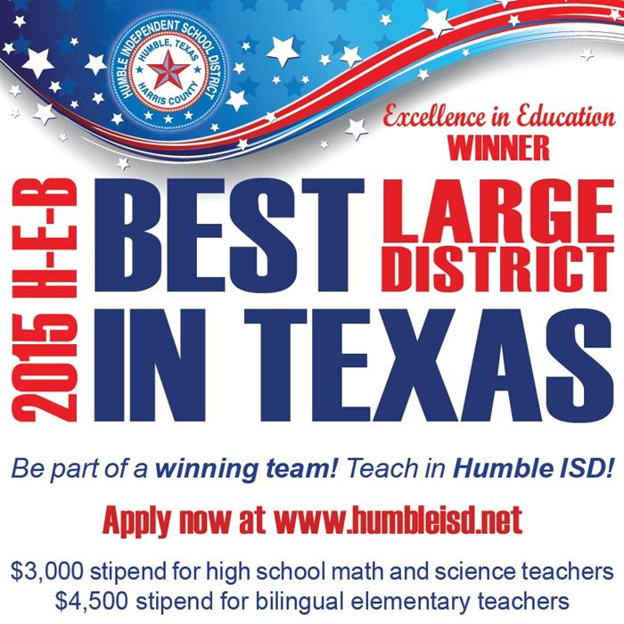 Join the Humble ISD Team!
