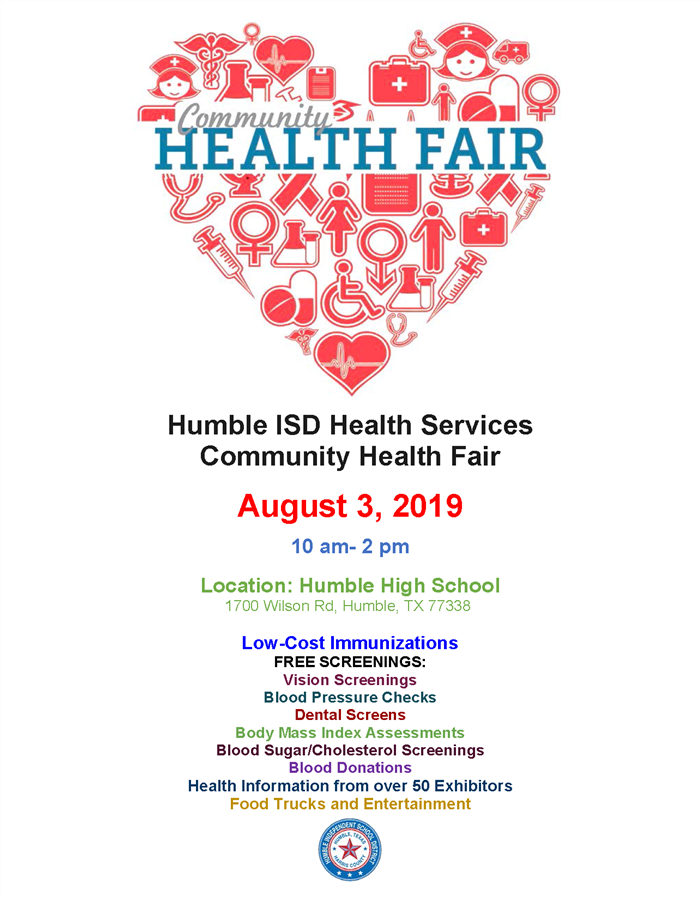 Community Health Fair August 3