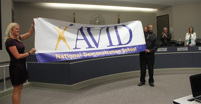 Humble Middle School is named an AVID National Demonstration School
