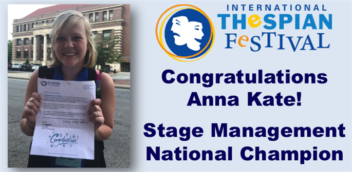 Stage Management National Champion
