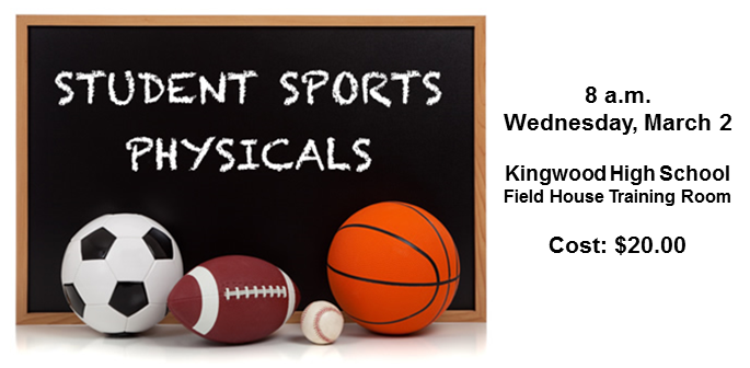 Sports Physical at KHS