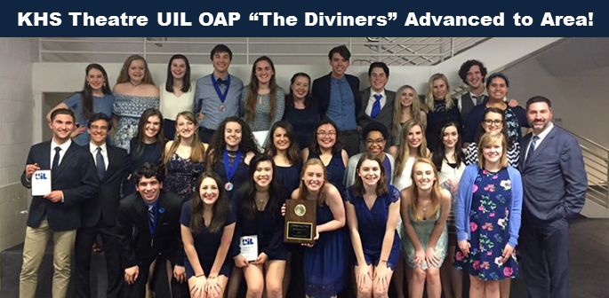 KHS UIL OAP Advanced to Area