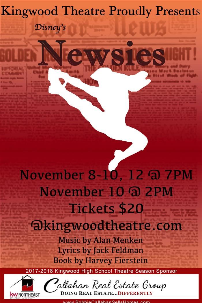 KHS Presents Newsies