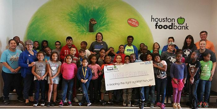 NBE and Houston Food Bank