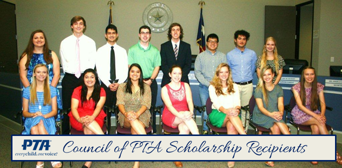 Council of PTAs Announces Scholarship Winners