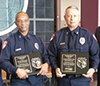 Humble ISD Police Officers of the Year are Willie Kent, Joseph Millhouse and Kenneth Tuck