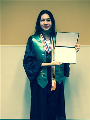 QECHS Early Grad Ariel George