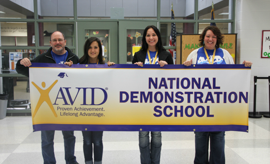 Tms Named Avid National Demonstration School For Three More Years