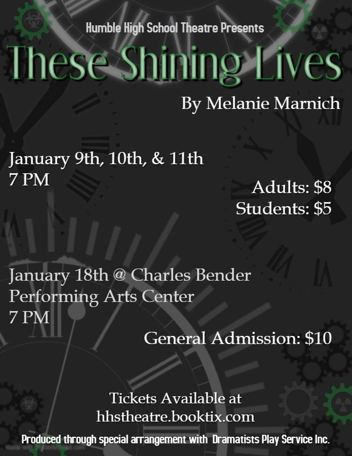 HHS Theatre presents These Shining Lives