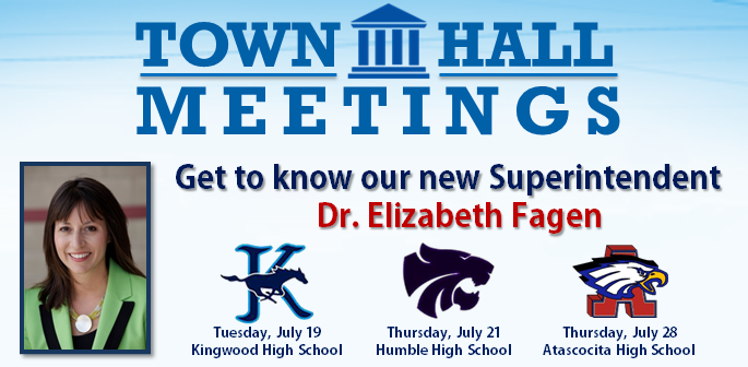 Town Hall Meetings to Meet Dr. Fagen