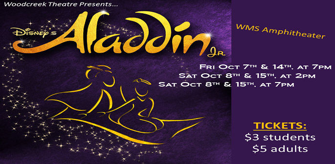 WMS Presents Aladdin Jr.