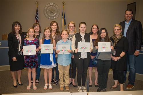 State Youth Art Month Winners