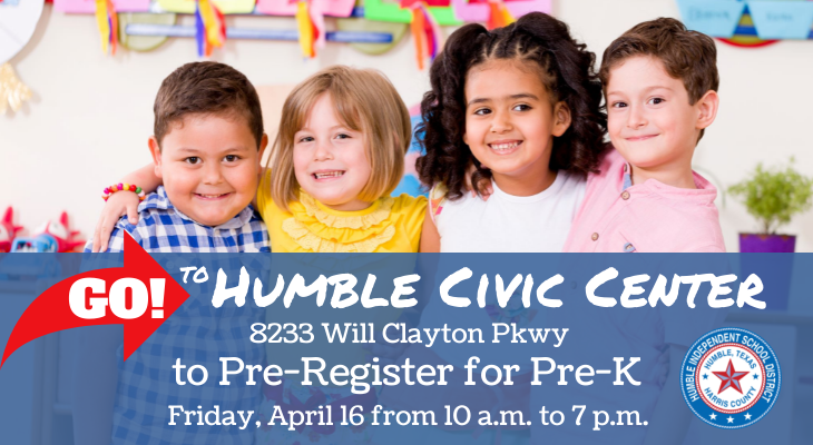 PreK Humble Civic Center April 16