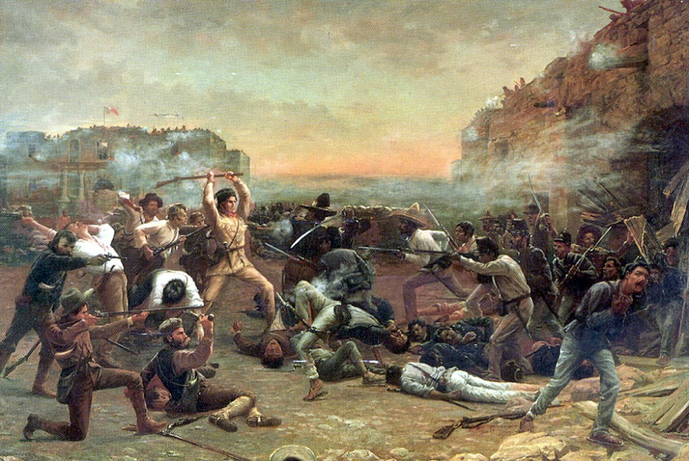 The Fall of the Alamo