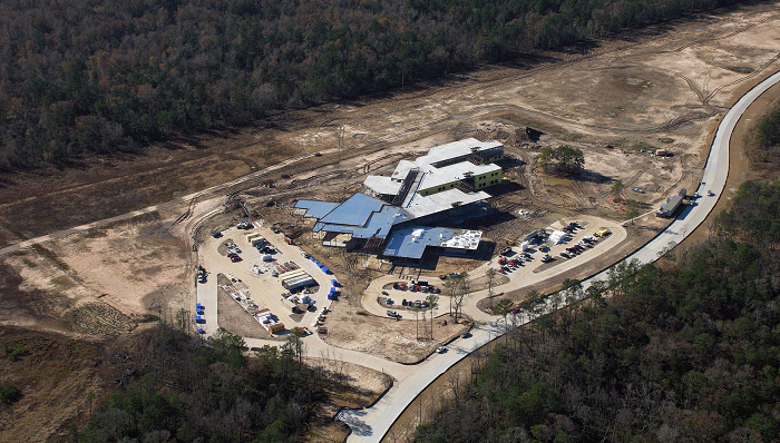 Atascocita Springs Elementary School under construction