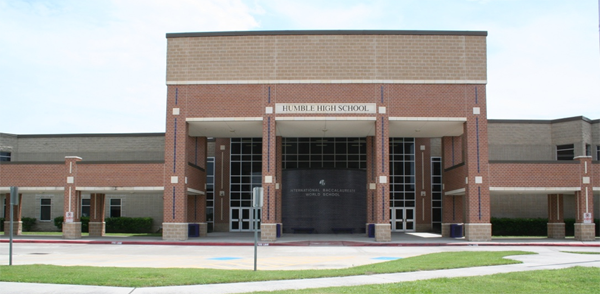 Humble High School on Wilson Road