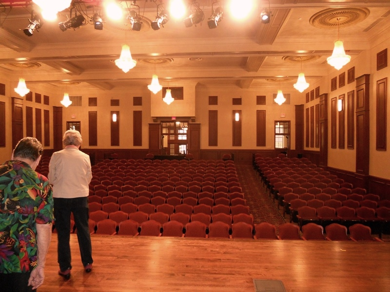 Auditorium at the Charles Bender Performing Arts Center