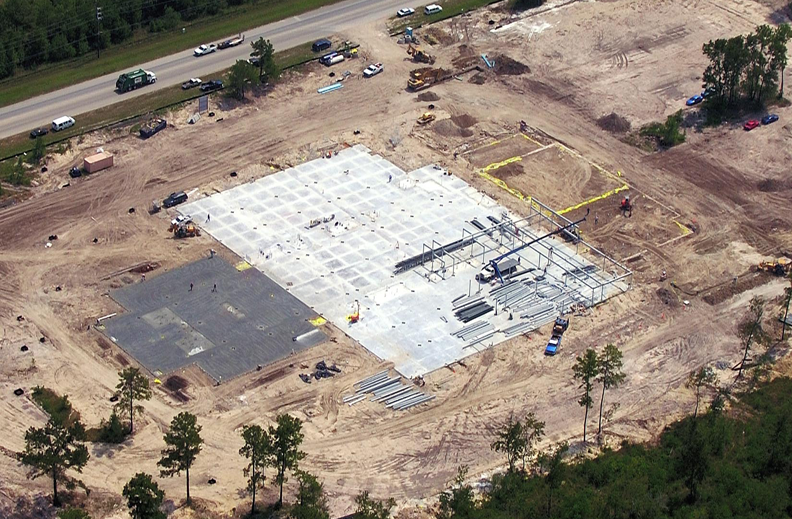 Park Lakes under construction