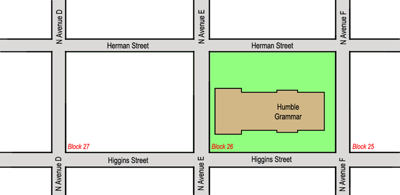 Higgins Street property, 1915
