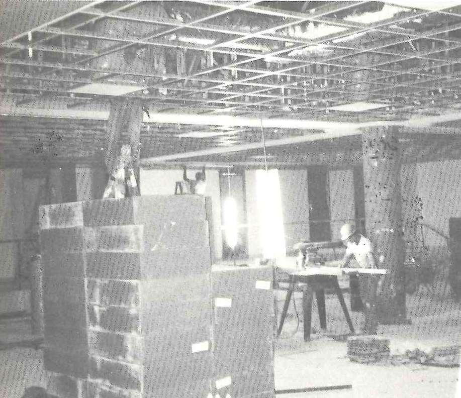 Pine Forest under construction, Cafeteria