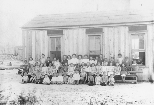 West River School, 1904