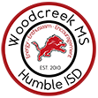 Woodcreek Middle School logo