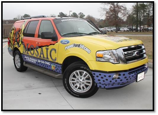 Planet Ford Donates Expedition to MOSIAC