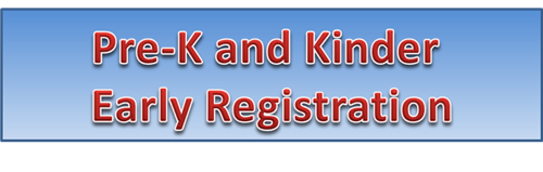 Pre-K and Kindergarten early registration times April 17-21 Clickable