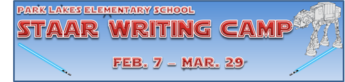 Staar Writing Camp Feb. 7 - Mar. 29