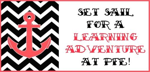 Set Sail for a learning adventure at PFE