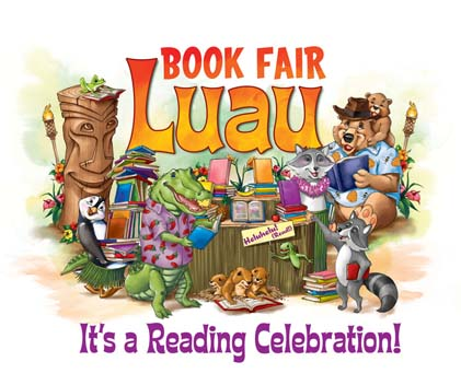 book fair luau